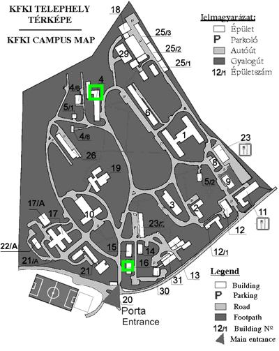 kfki térkép Envi Tech Kft. kfki térkép